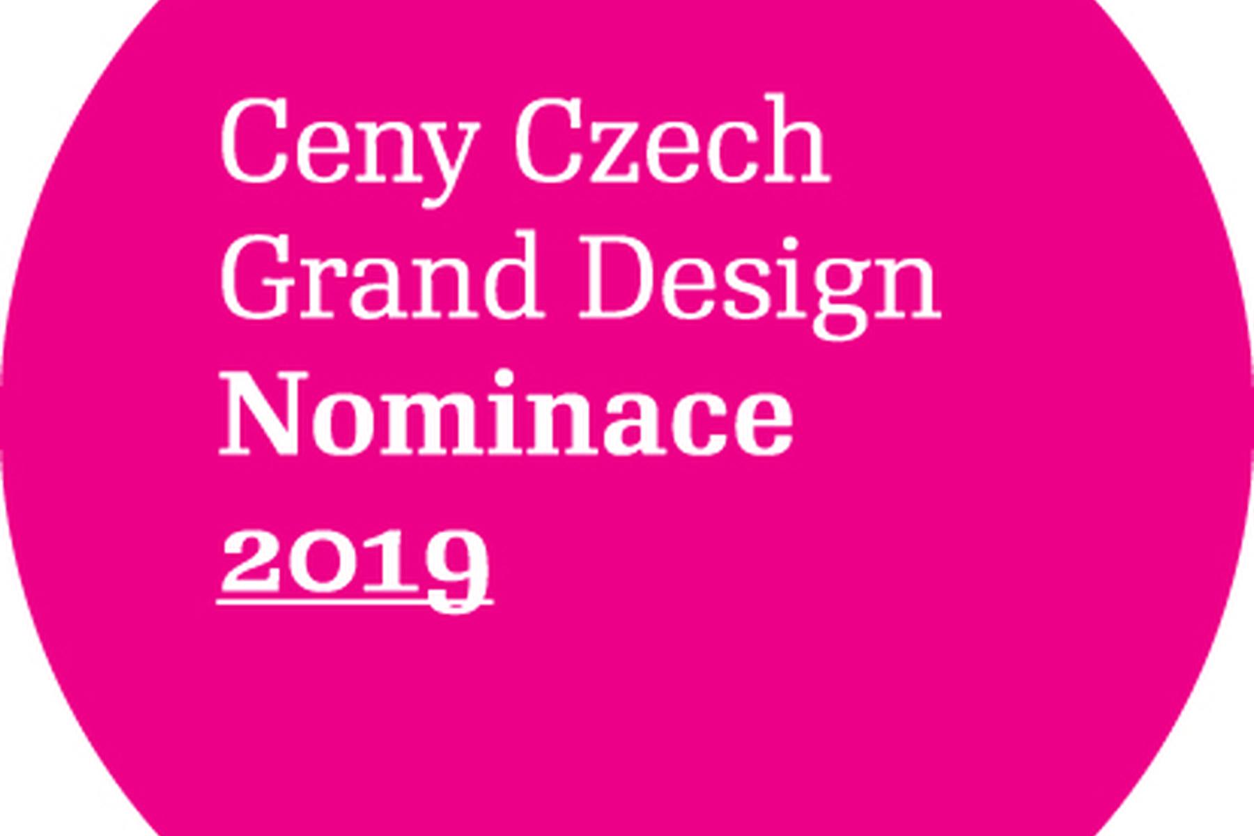 Tři nominace na ceny Czech Grand Design