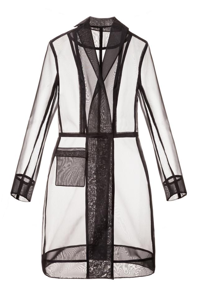 transparent coat
