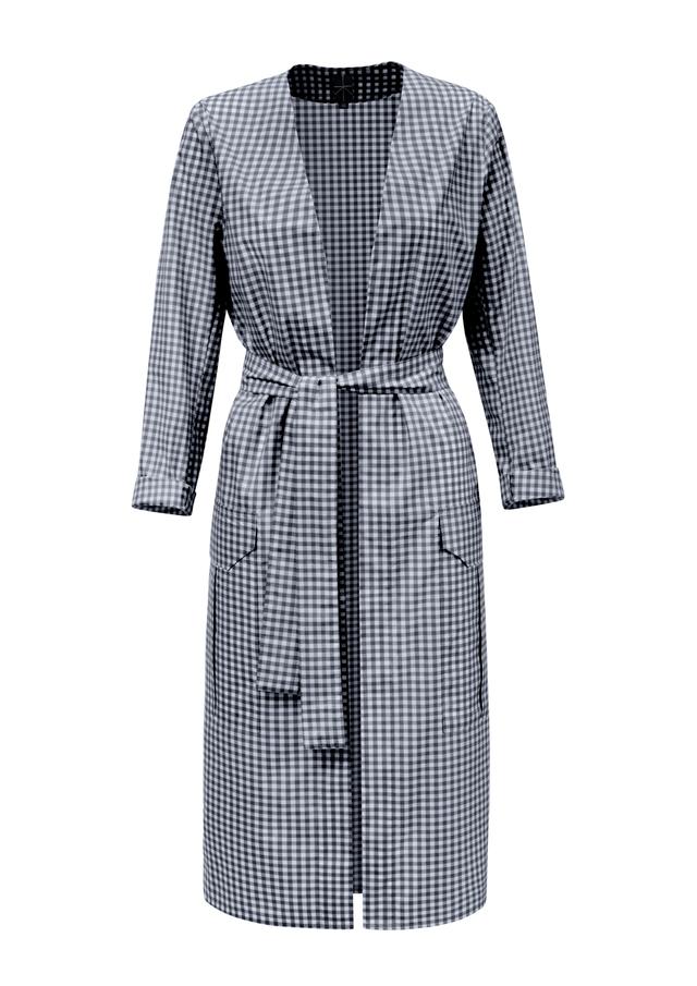 bavlněný lehký plášť