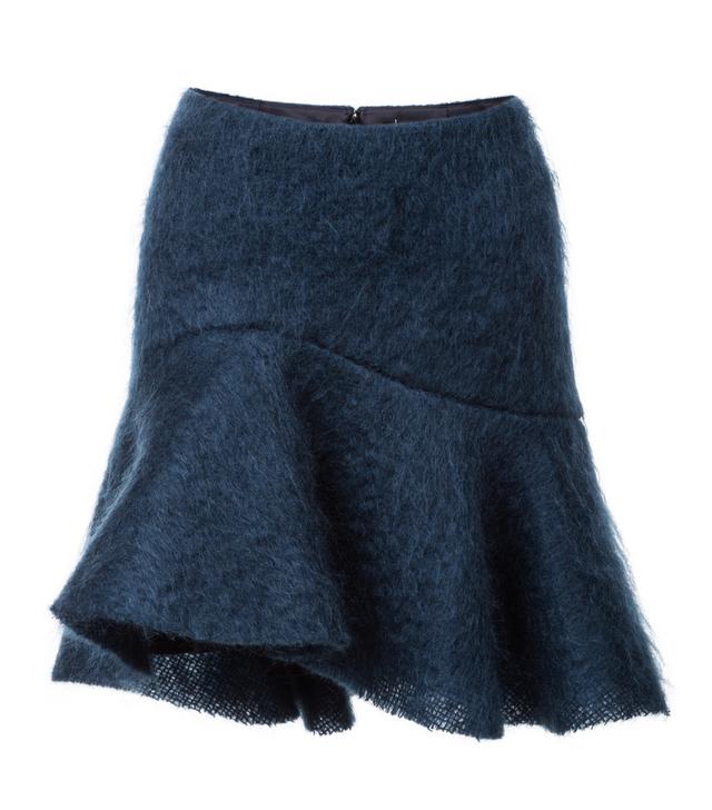 mohérová sukně