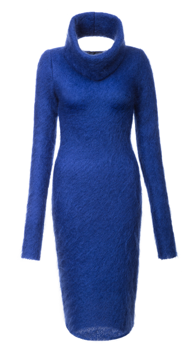 mohérové šaty