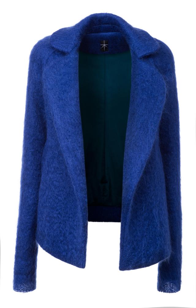 mohérový kabát