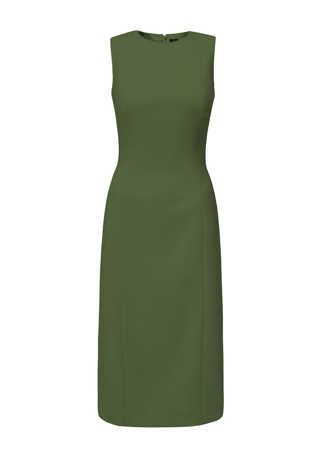 mid length pencil dress