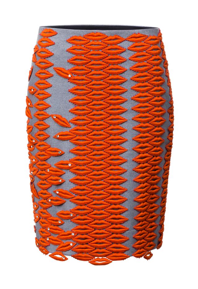 sukně s pusinkami
