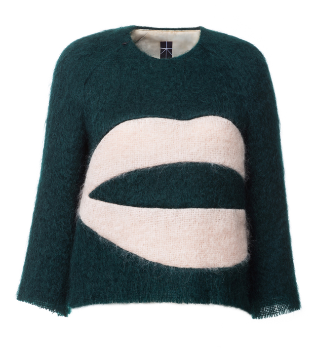 tkaný svetr
