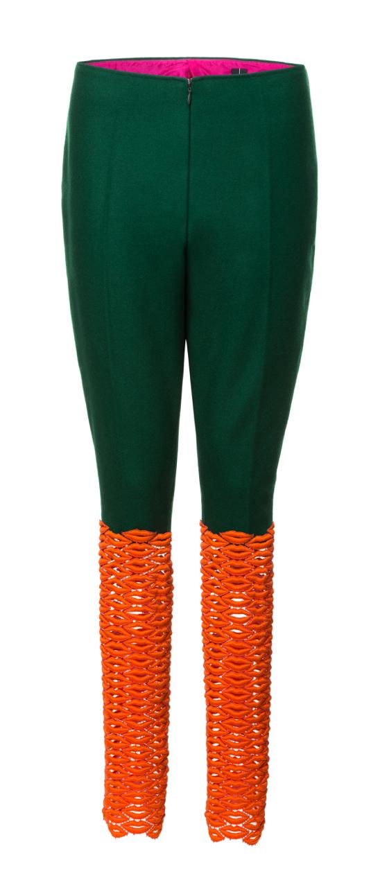 lipstick trousers