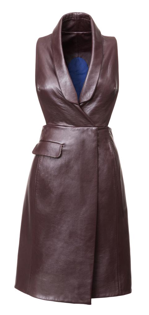 Kožené šaty