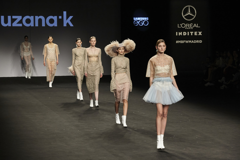 Couture 2019 collection presented in Madrid