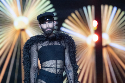 Conchita Wurst in our jumpsuit