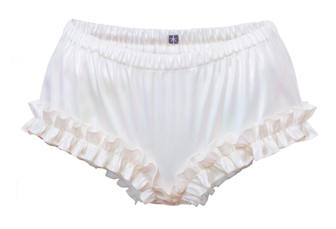 hedvábné kalhotky s kanýrkem