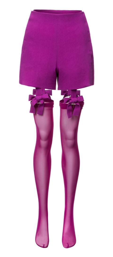 vlněné šortky